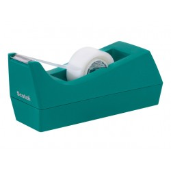 Plakbanddispenser Scotch C38 blauw+1tape