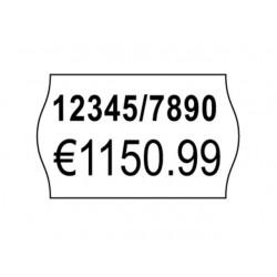 Etiket Avery 2-regels 26x16 wit/pk 10