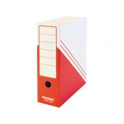 Archiefdoos 260x100x325 wit-rood/pk20