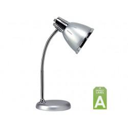 Bureaulamp Flexio fluo klein grijs