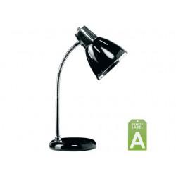 Bureaulamp Flexio fluo klein zwart