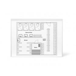 Insteekmap ZK A4 waterafstotend/pk 10
