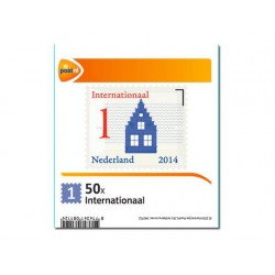 Postzegel internationaal waarde 1/set 50