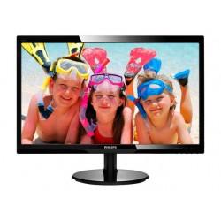 Monitor Philips 246V5LSB 61 cm LED zwart