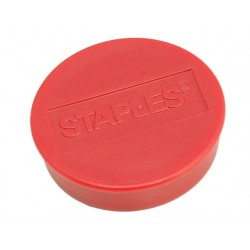 Magneet SPLS 35 mm rood/pak 10