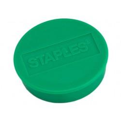 Magneet SPLS 35 mm groen/pak 10