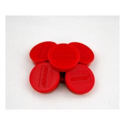 Magneet SPLS 10 mm rood/doos 10