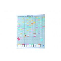 T-plankaart nobo weekplanner 8kol/24r