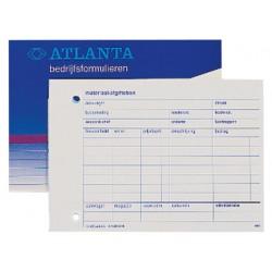Materiaal afgiftebon Atlanta 50v/blok