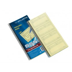 Terugbelboek Atlanta 74x125 duplo/pk5