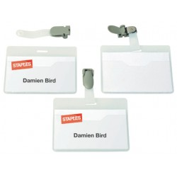 Naambadge SPLS 60x90 open clip/ds 25