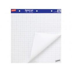 Flipoverpapier SPLS 72x74cm ruit/ds2x50