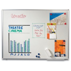 Whiteboard SPLS emaille 90x60