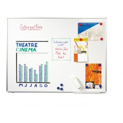 Whiteboard SPLS emaille 45x30