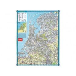 Kaart nobo magnetisch Nederland