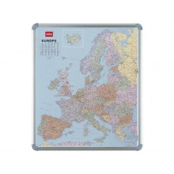 Kaart NOBO magnetisch Europa
