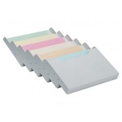 Ladeverdeler Multiform 6v A4 dwars grijs