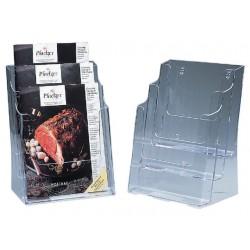 Folderstandaard SPLS A4 3-vaks