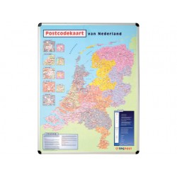 Kaart nobo magnetisch Nederland postcode
