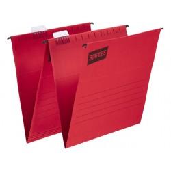 Hangmap SPLS flex A4 V-bodem rood/doos25