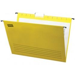 Hangmap SPLS flex A4 V-bodem geel/doos25