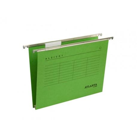 Hangmap vert. Alzicht A4 30mm groen/ds25