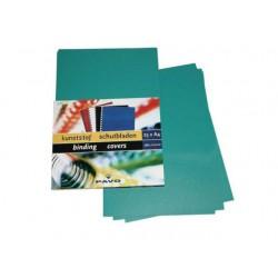 Schutblad A4 0,28mm PP groen/pk25