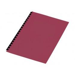 Schutblad SPLS A4 kart 250g rood/pak 100