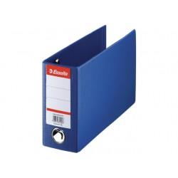 Ordner bank/giro 80mm 16x28cm kart.blauw