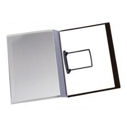 Rapportenmap JalemaClip A4 grijs/pk 10