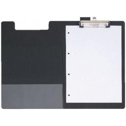 Klembord SPLS A4/folio foldover zwart