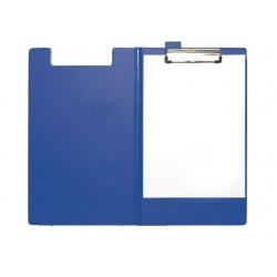 Klembord SPLS A4/folio foldover blauw
