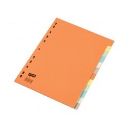 Tabblad SPLS A4 11R 2x6-kleurkarton/se12