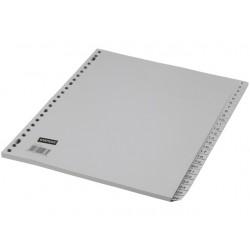 Tabblad SPLS A4 23R PP 1-52 grijs/set 52