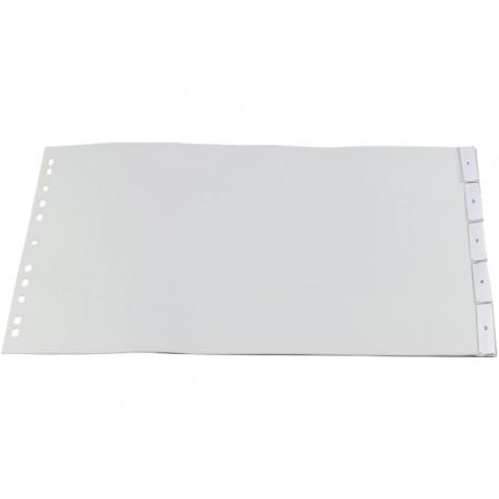 Tabblad SPLS A3dwars 11R PVC venster/se5