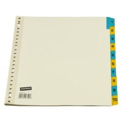Tabblad SPLS A4 23R 1-10 kar kl.tab/se10