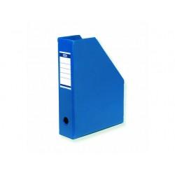 Tijdschriftcassette ELBA A4 PVC blauw