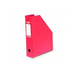 Tijdschriftcassette ELBA A4 PVC rood