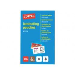 Lamineerhoes SPLS 54x86 2x125micr/pk100