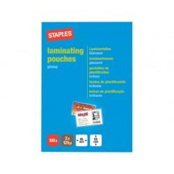Lamineerhoes SPLS 65x95 2x125micr/pk100