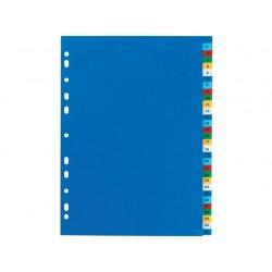 Tabblad ELBA A4 11R PP 1-31 kleur/set 31