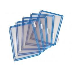 Zichtpaneel Tarifold A4 PVC blauw/doos10