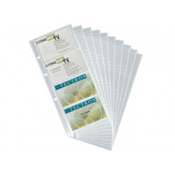 Navulling visitekaart Durable 2389/pk 10