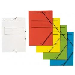 Elastomap Jalema folio kart.320g wit/pk5