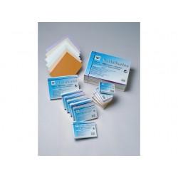 Systeemkaart A6 lijn wit/pk100
