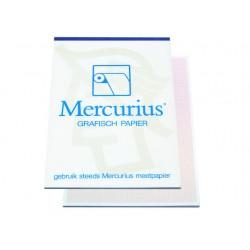 Millimeterpapier A3 roodbruin/blok 50v