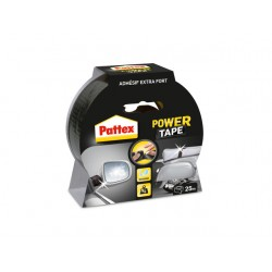 Power tape Pattex 50mmx25m zwart/rl 25m
