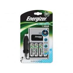 Batterijlader Energizer 1 uur+4xAA