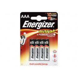Batterij Energizer Ultra+ LR03/AAA/BS 4