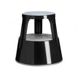 Stapvast steun staal zwart